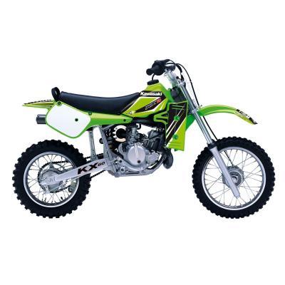 Kit déco + housse de selle Blackbird Dream Graphic 4 Kawasaki 60 KX 85-19 vert/noir
