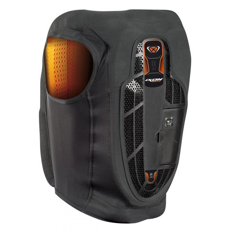 Airbag Ixon IX-Airbag U03 noir/orange - 1