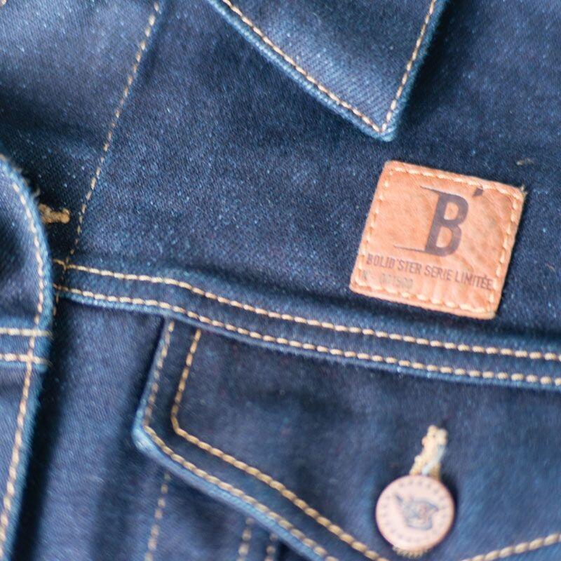 Blouson jean Bolidster Jack'Ster indigo - 1