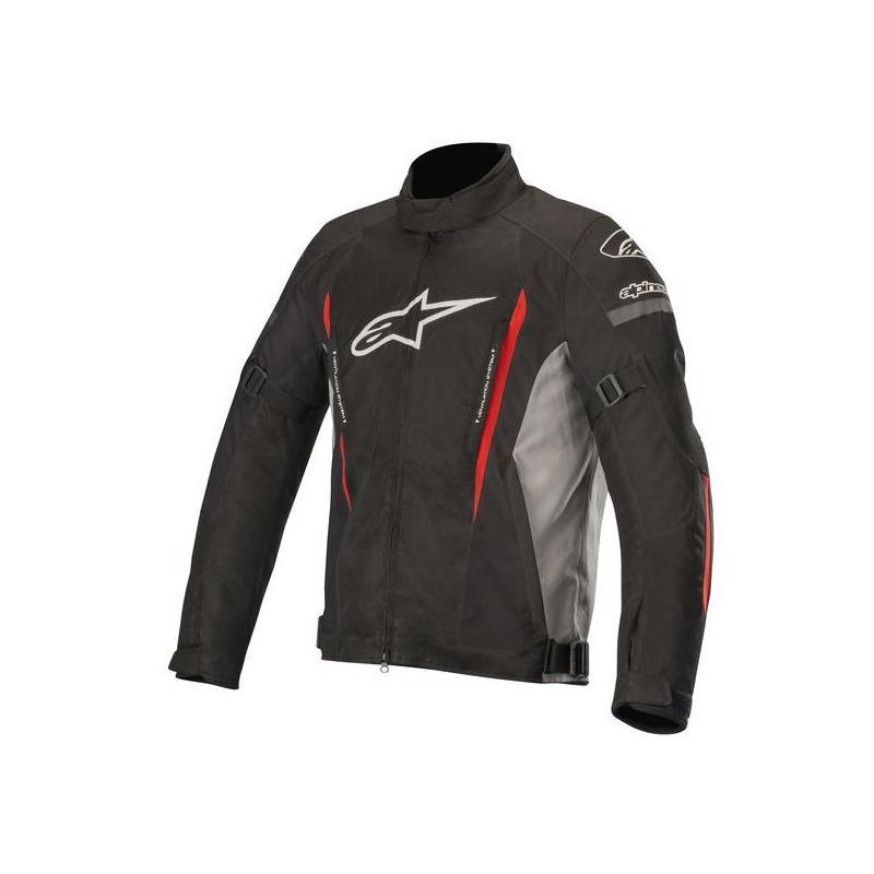 Blouson textile Alpinestars Gunner V2 Waterproof noir/gris/rouge