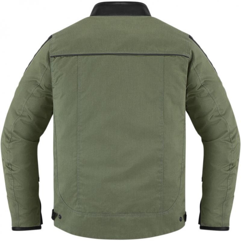 Blouson textile Icon 1000 MH 1000 vert - 1