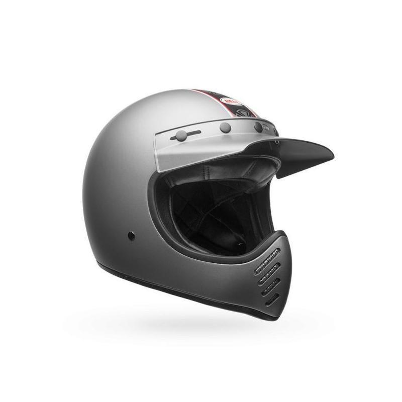 Casque Bell Moto 3 Independent gris mat - 3