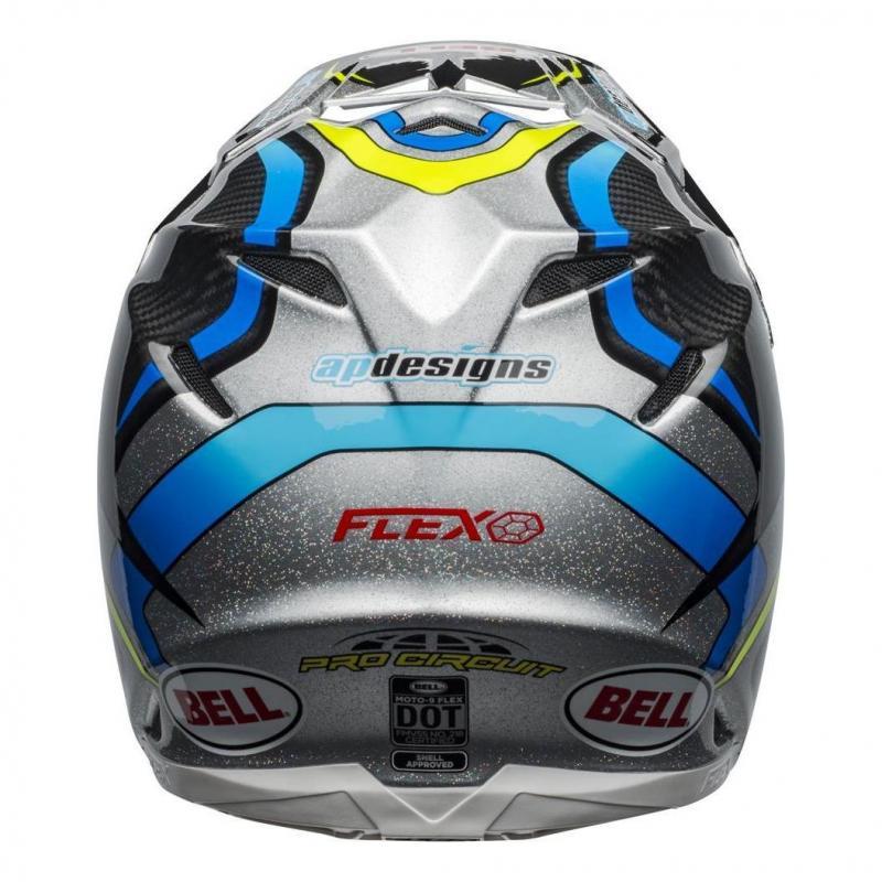 Casque cross Bell Moto-9 Flex pro Circuit Réplica 19 noir/vert - 8