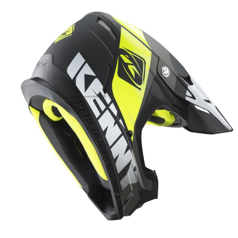 Casque cross Kenny Performance gris - 1