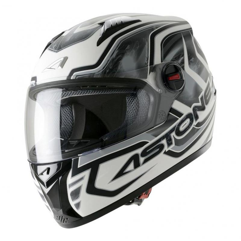 Casque Intégral Astone Gt Graphic Exclusive Burning gris