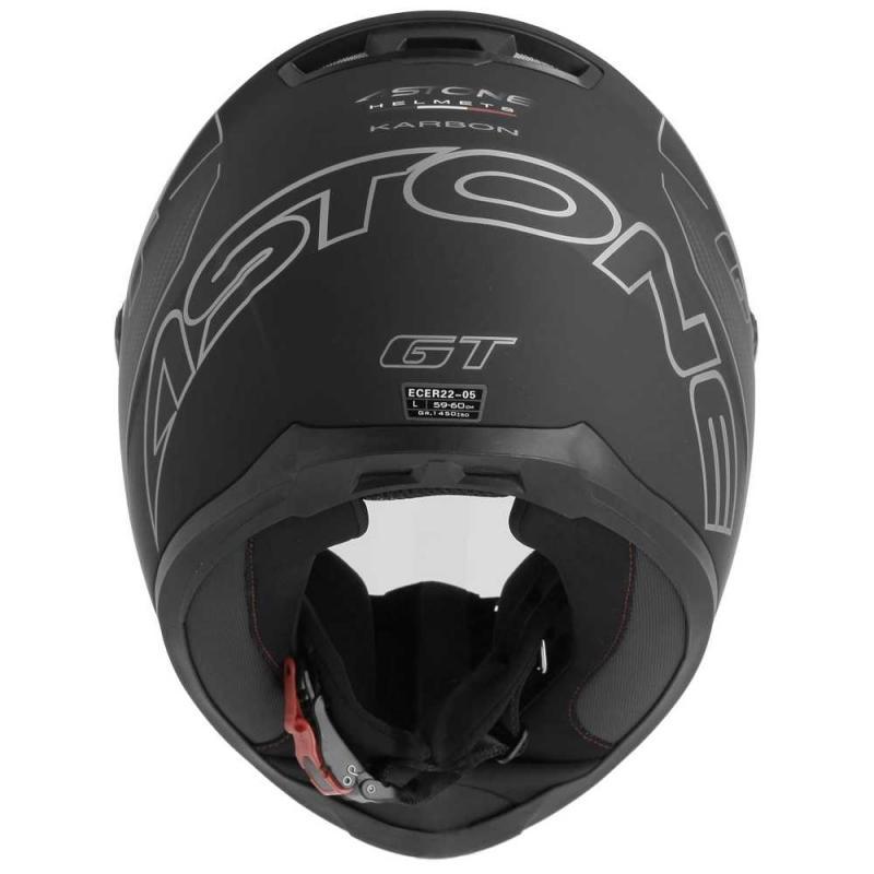 Casque intégral Astone GT2 CARBONE noir/gris - 3