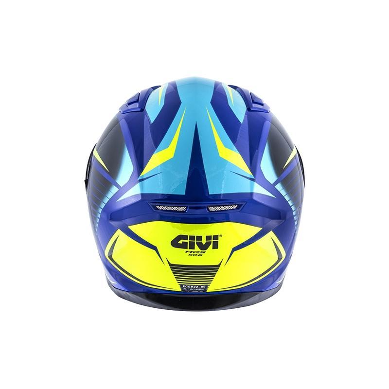 Casque intégral Givi 50.6 Stoccarda Glade bleu/jaune - 2
