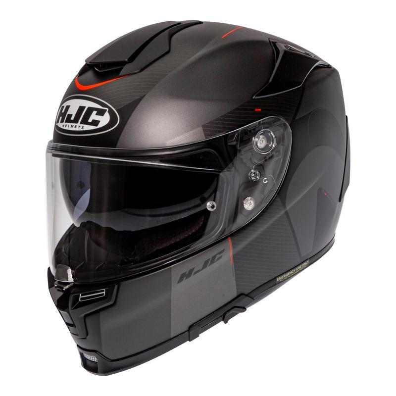 Casque intégral HJC RPHA 70 Wody MC5SF gris/noir
