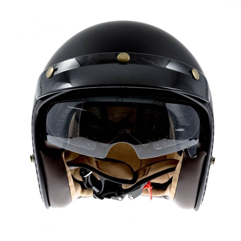 Casque jet Lazer MAMBO EVO Z-LINE noir mat - 1
