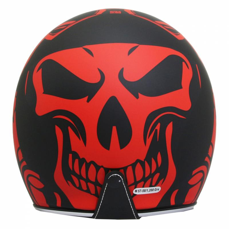 Casque jet MT Helmets Le Mans 2 SV Divenire noir / rouge - 1