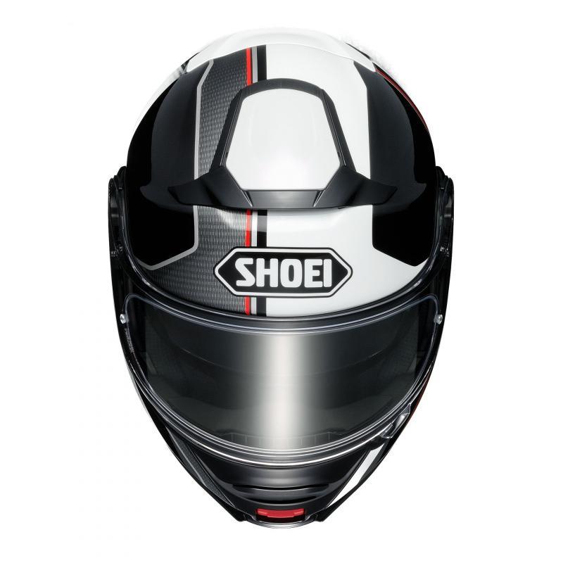 Casque modulable Shoei Neotec II blanc/noir/rouge - 2