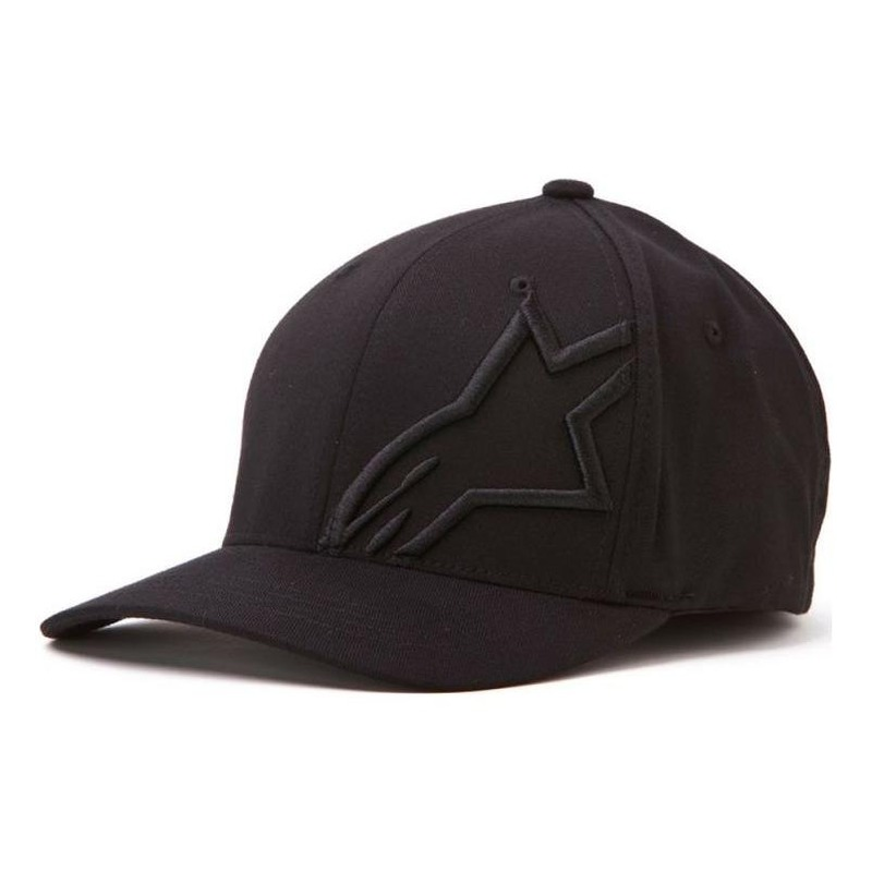 Casquette Alpinestars Corp Shift 2 FlexFit noir/noir