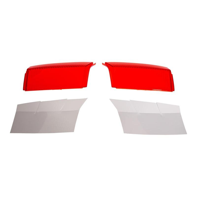 Catadioptre rouge avec fond blanc (la paire) Givi Z1424R