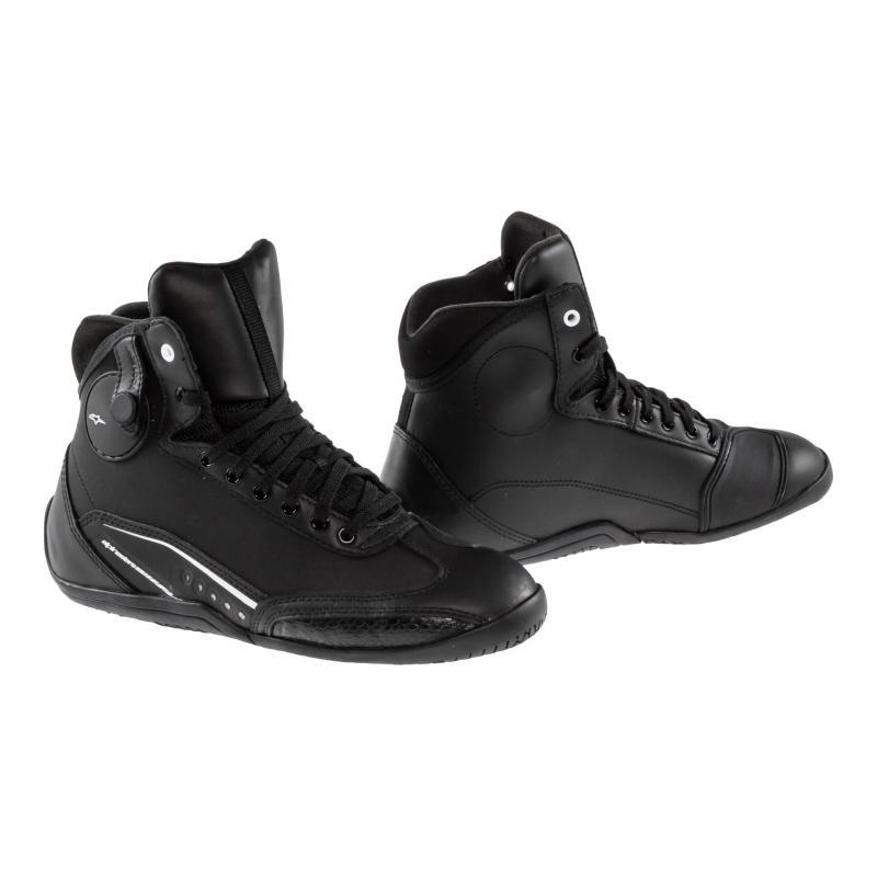 Chaussures femme Alpinestars STELLA AST-1 DRYSTAR noires / blanches