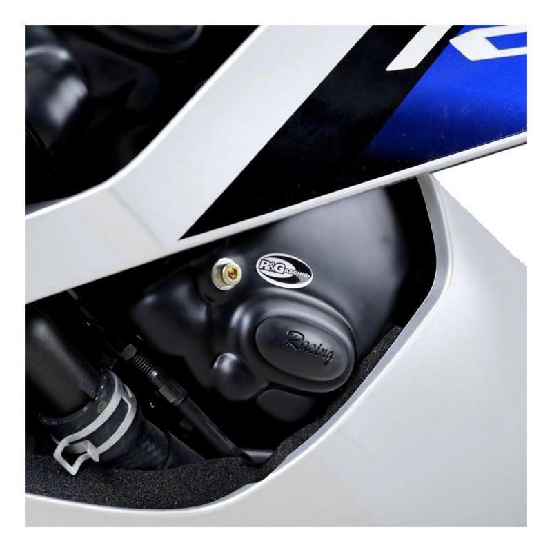 Couvre carter de pome à huile R&G Racing Race Serie noir Yamaha YZF-R6 06-18