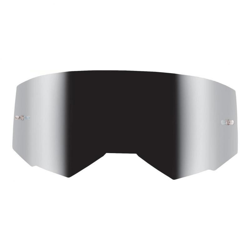 Écran Fly Racing pour masque Zone, Zone Pro et Focus miroir argent/fumé