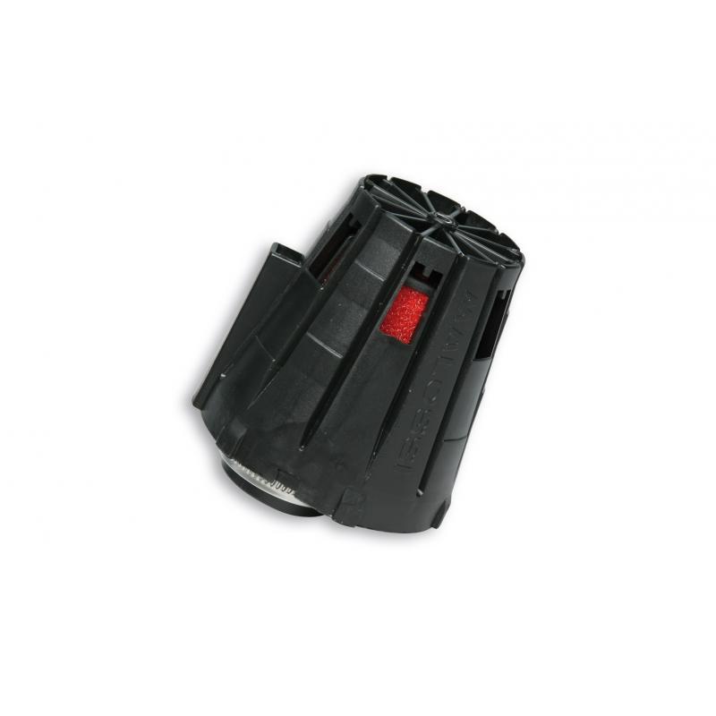Filtre à air Malossi Red Filter E5 D.32 x 1,25 couvercle noir