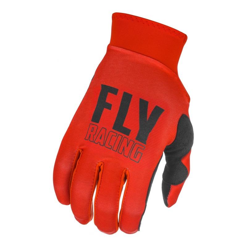 Gants cross Fly Racing Pro Lite rouge/noir