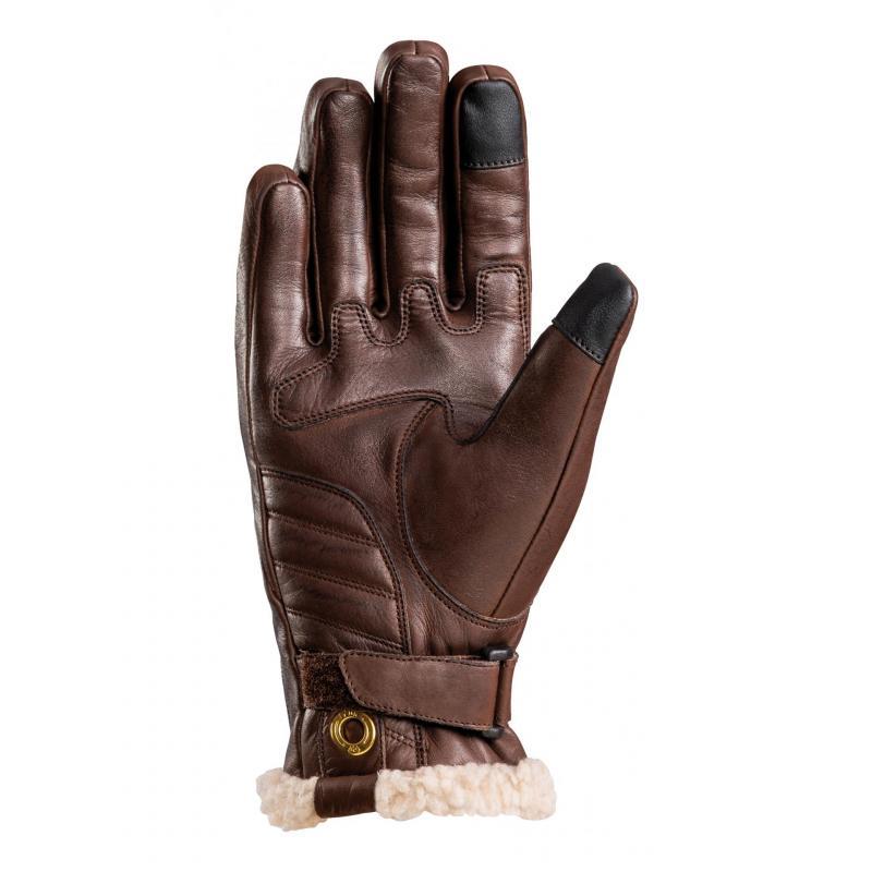 Gants cuir Ixon Pro Custom L marron - 1