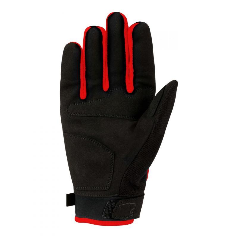 Gants textile Bering York noir/rouge - 1