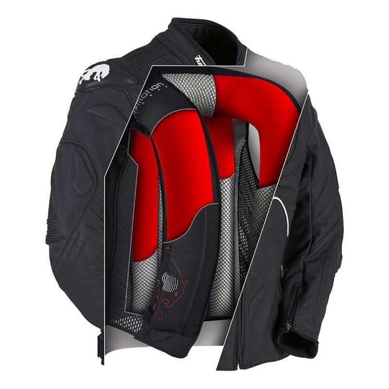 Gilet airbag Furygan noir - 3