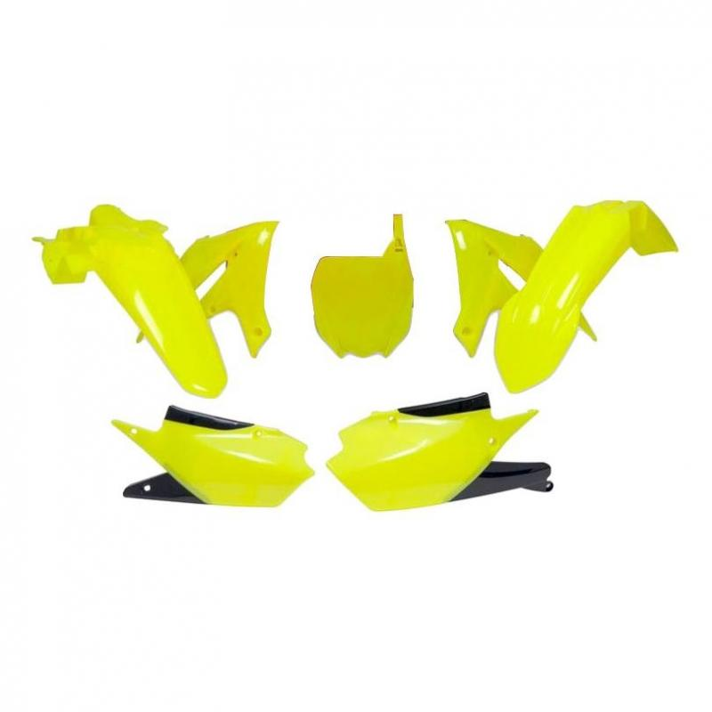 Kit plastique RTech Yamaha 250 YZ-F 19-21 jaune fluo