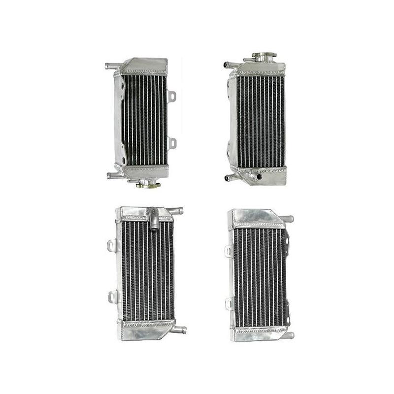 Paire de radiateurs Oversized Psychic Honda CRF 250R 04-09 (Gros volume)