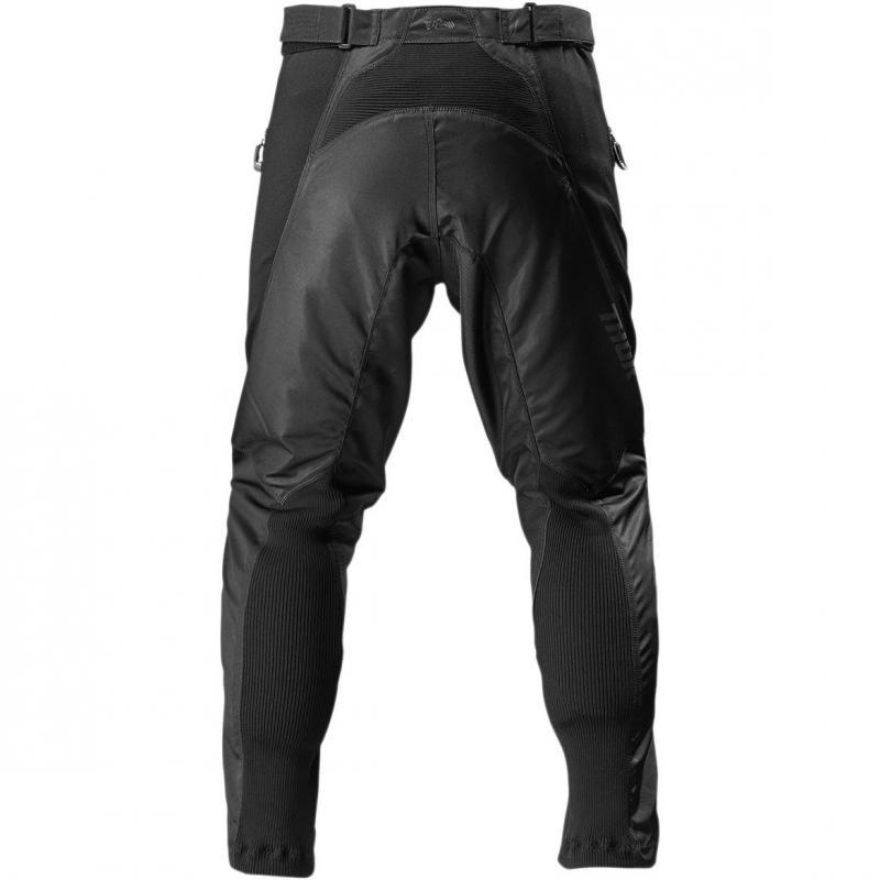 Pantalon enduro Thor Terrain noir - 1