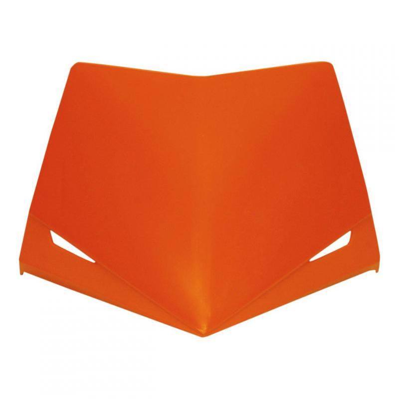 Partie supérieure de la plaque phare UFO Stealth orange (orange KTM 98-19)