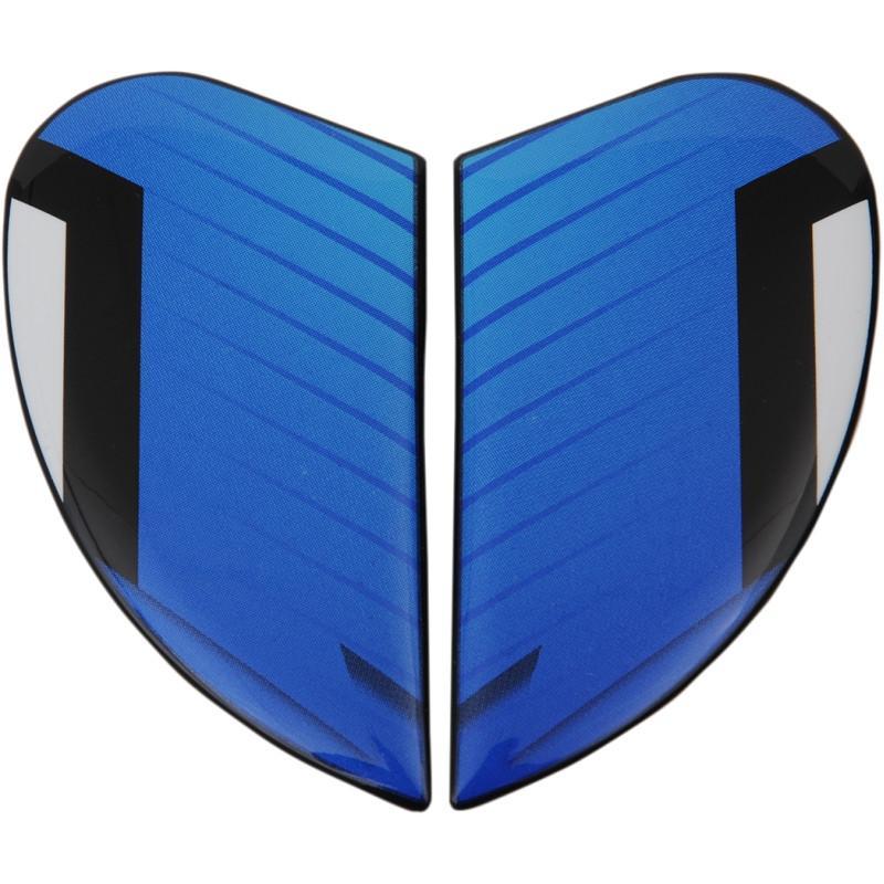 Plaques latérales Icon pour casque Airframe Pro Warbird bleu