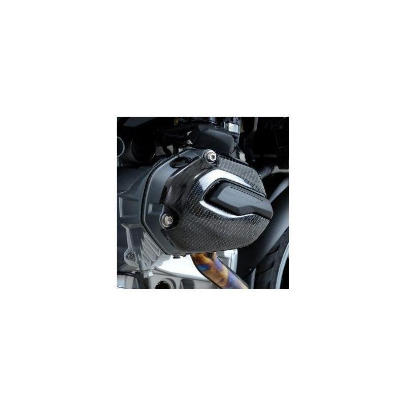 Protection de couvre culasse R&G Racing carbone côté gauche BMW R 1200 GS 13-18