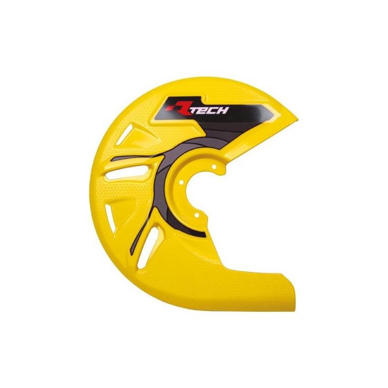 Protection de disque de frein avant RTech jaune (jaune RMZ)