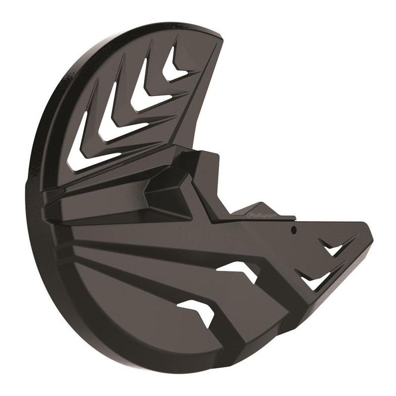Protection disque avant + bas de fourche Polisport Husqvarna 250 FC 15-18 noir