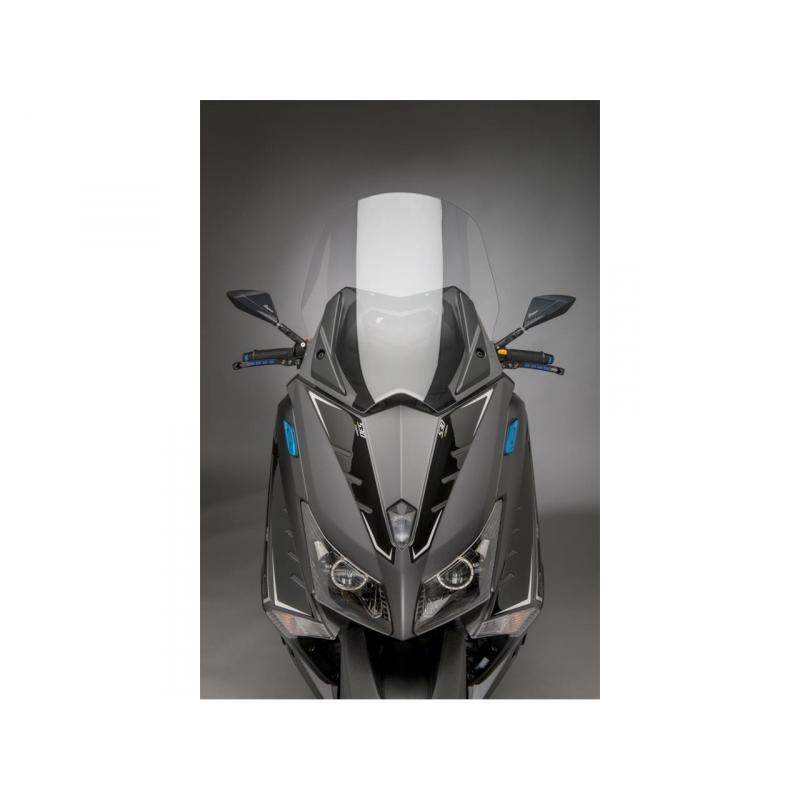 Rétroviseurs aluminium Lightech noir Yamaha T-Max 530 2012-17 (paire) - 1