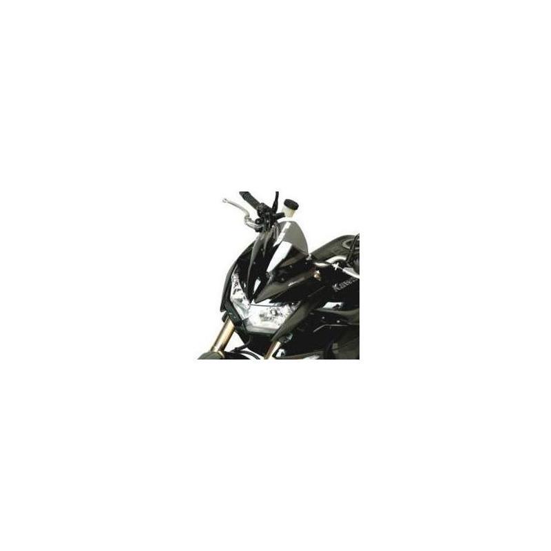 Saute vent Bullster 30,5 cm fumé noir Kawasaki Z1000 07-09