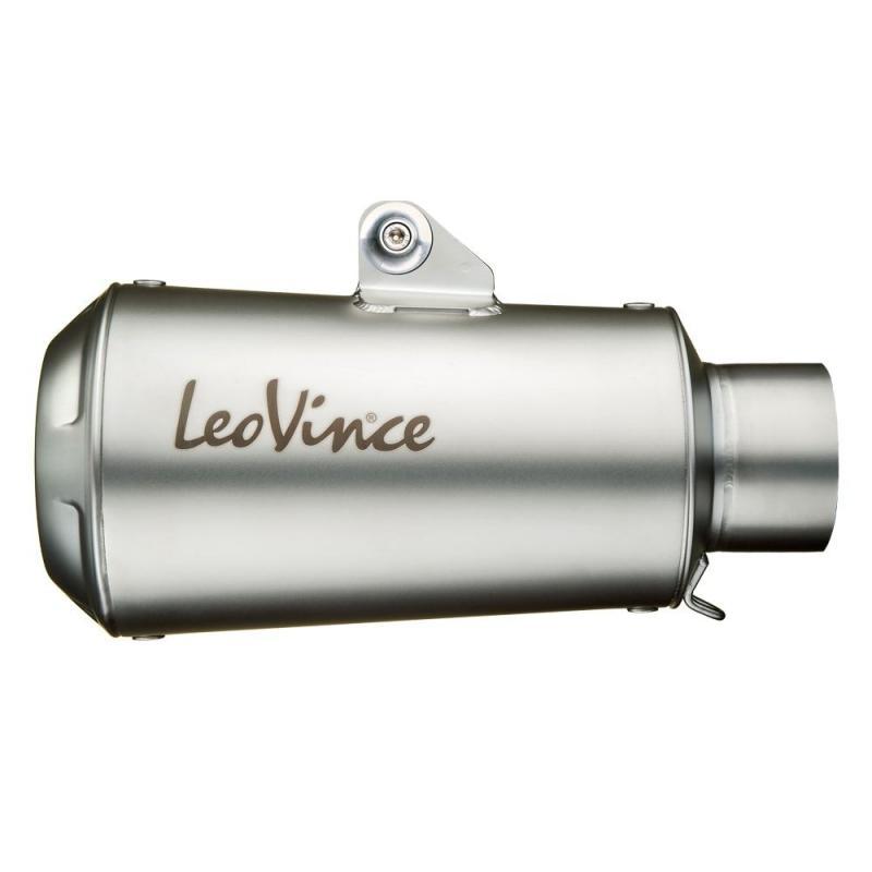 Silencieux universel Leovince LV-10 inox Ø 54 mm - 1