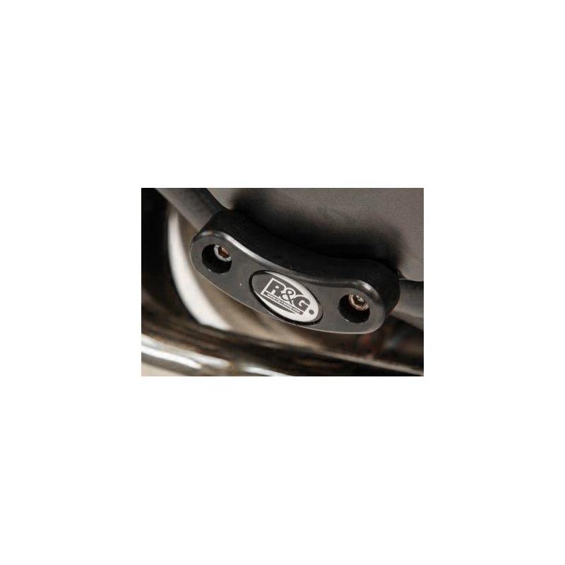 Slider moteur gauche R&G Racing noir Honda CB 1000 R 08-17