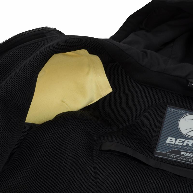 Sweat à capuche moto Bering Hoodiz noir - 2
