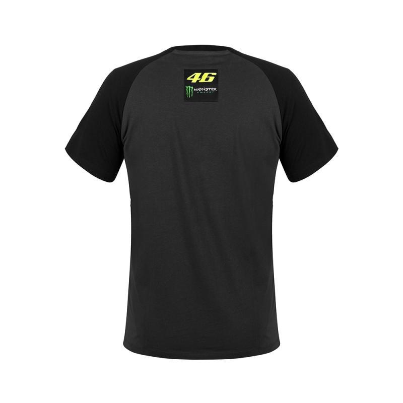 Tee shirt VR46 Valentino Rossi Dual Monster noir 2018 - 1