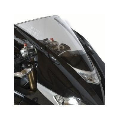 Caches orifices rétroviseurs R&G Racing noir Triumph Daytona 675 13-16
