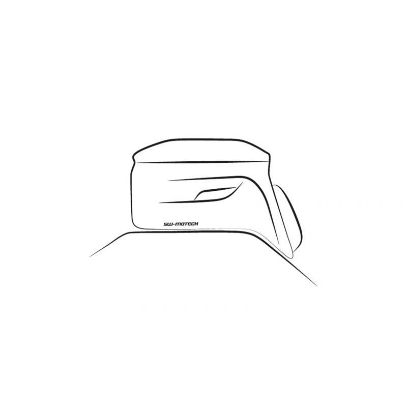 Sacoche de réservoir SW-Motech Evo City noire / grise - 3
