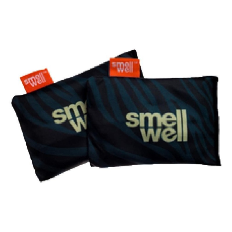 Sacs d'absorbeur d'humidité/odeurs 3en1 SmellWell Active BZ Zebra noir