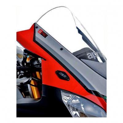 Caches orifices de rétroviseur R&G Racing noirs Aprilia RSV4 15-18