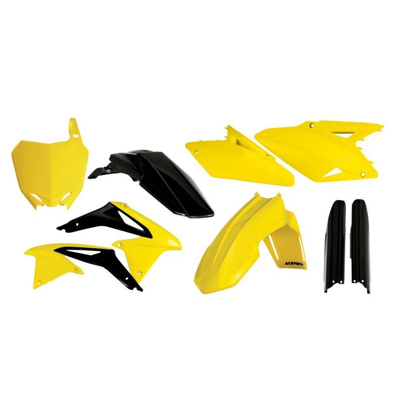 Kit plastiques complet Acerbis Suzuki 450 RMZ 08-17 réplica14