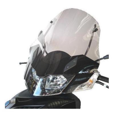 Pare-brise Bullster haute protection 52 cm fumé gris Piaggio MP3 300 Urban 11-14