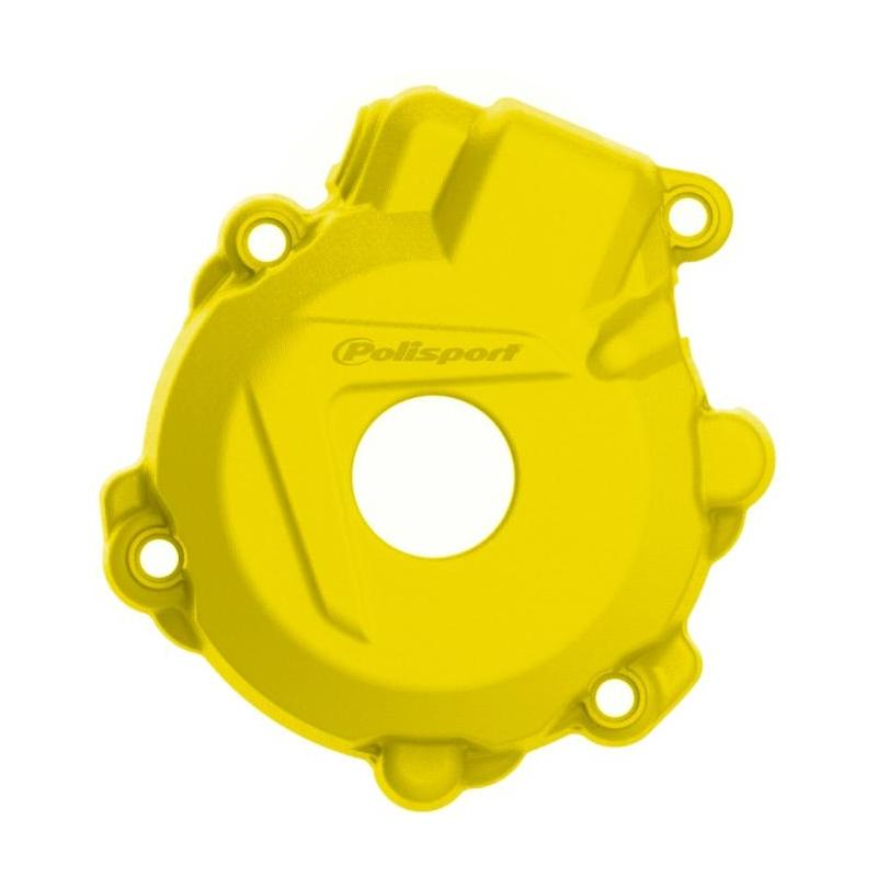 Protection de carter d'allumage Polisport Husqvarna 250 FE 14-16 jaune