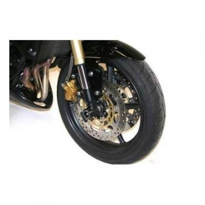 Tampons de protection de fourche R&G Racing noirs Yamaha X-Max 400 13-14