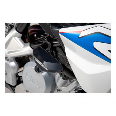 Kit de tampons de protection SW-MOTECH noir BMW G 310 R 17-19