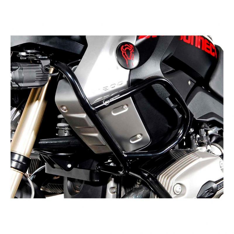 Barres de protection latérale supérieure SW-MOTECH noir BMW R 1200 GS 08-12