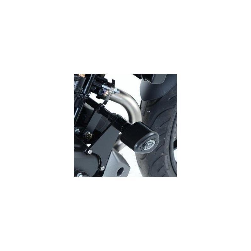 Tampons de protection R&G Racing Aero noir Yamaha MT-09 13-16